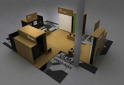 3d Stand Tasarımları, Ahşap Fuar Standı Modelleri