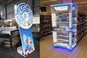 Tanıtım standı, karton stand, plastik ürün tanıtım standı