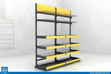 Tel Stand, Metal Tanıtım Standları, Ürün Teşhir Standları
