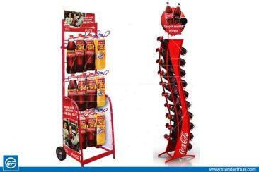Ürün Teşhir Standları, Ahşap Standlar, Metal Plastik Tanıtım Standı
