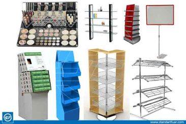 Tel Ürün Standları, Metal Standlar, Ahşap Tanıtım Standları