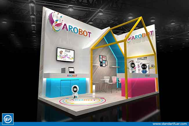 Exhibition Stand Models, fair Booth Stands, Event Stall Stands
