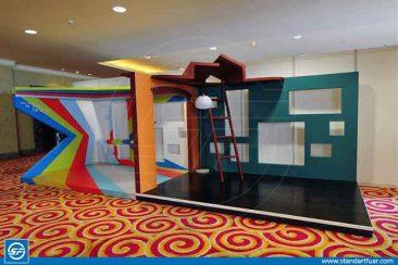 Custom Exhibition Stands, Wooden fair Stand Contractors Turkey