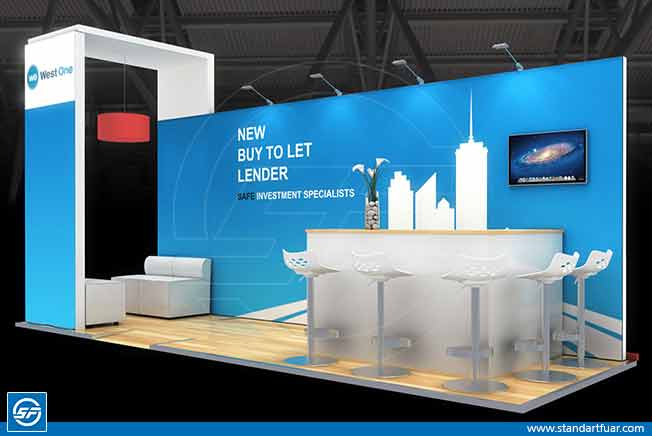 3D Exhibition Stall, 3D Exhibition Stall Design