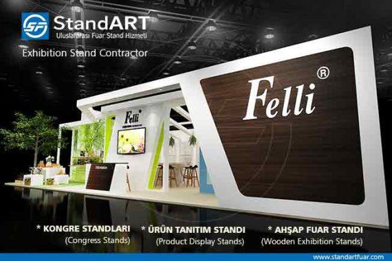 İzmir fuar standı, ahşap standlar, demonte fuar stand tasarımları